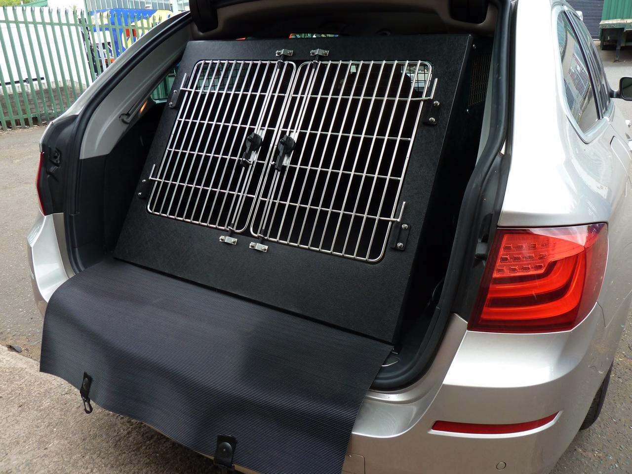 Small/medium Dog cage in estate vehicle